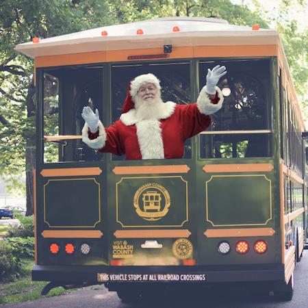 Santa Trolley